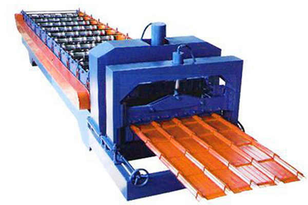 Standing Seam Roof Panel Machine Project